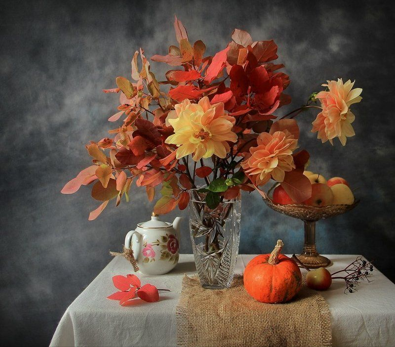 Багряная осеньphoto preview