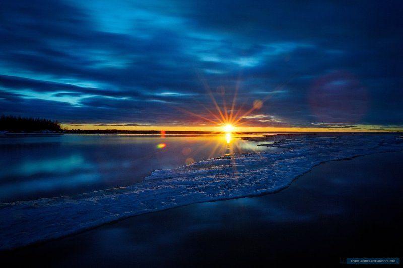 пейзаж, закат, море The Big Bang Theoryphoto preview