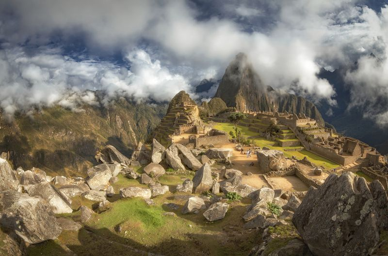 machu-picchu, peru, morning, мачу-пикчу Gorgeous Machu-Picchuphoto preview