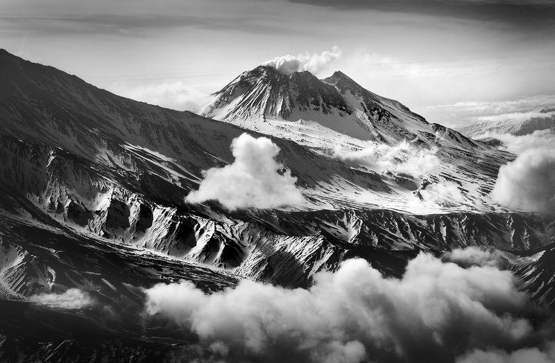 камчатка, вулкан, безымянный Невероятная Камчатка...photo preview