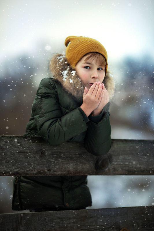 фотограф, детские фото, детские портреты, красивые фото зимние фото photo preview