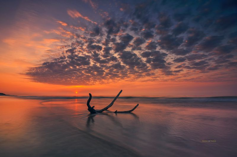 Baltic Sea, Poland, sunset, sky, clouds, landscape, sea Baltic Seaphoto preview