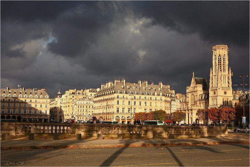 Тучи над Сен-Жермен-ль\'Оксеруаphoto preview