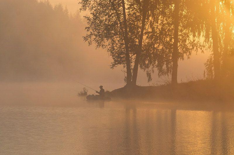 рыбалка рассвет По утренней зорькеphoto preview