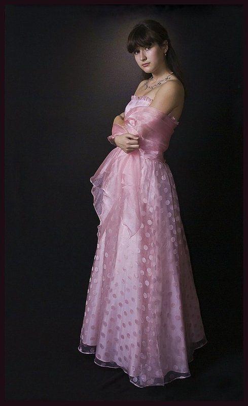портрет, бальное, платье, девочка Портрет в полный рост.photo preview