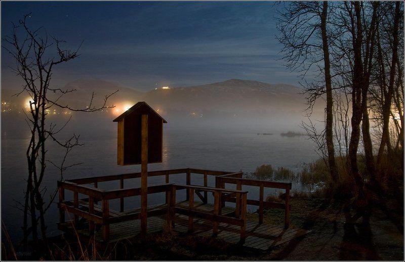 Туман над озером Престваннетphoto preview