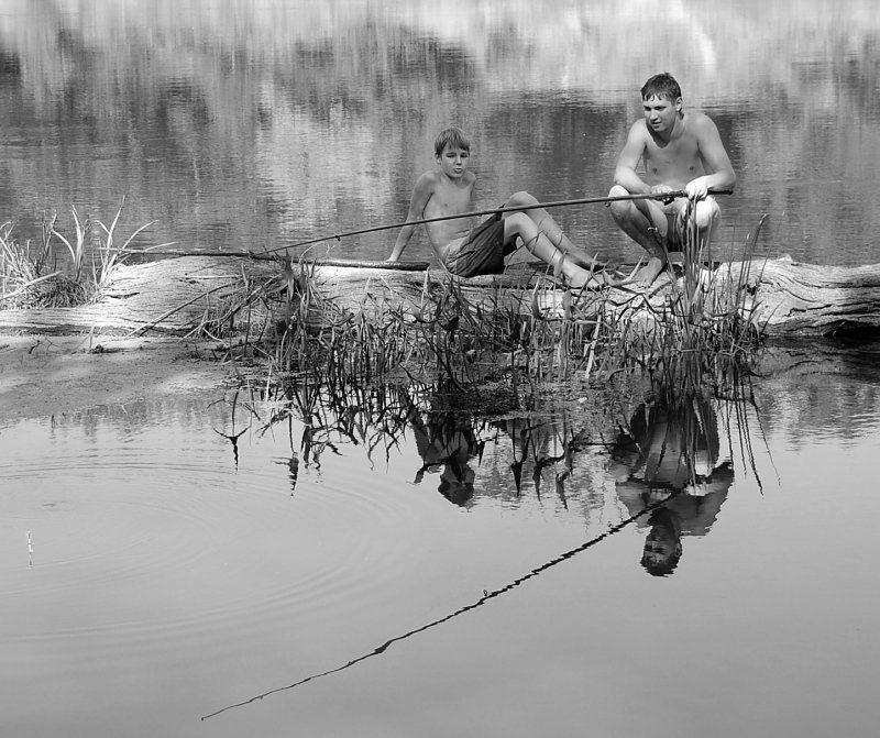 одна рыбалка на двоих...photo preview