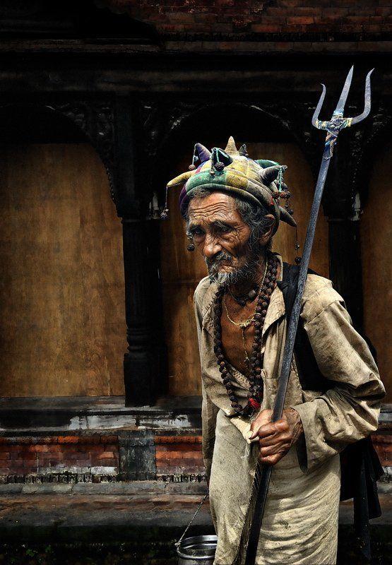 непал, шут, старик Jokerphoto preview