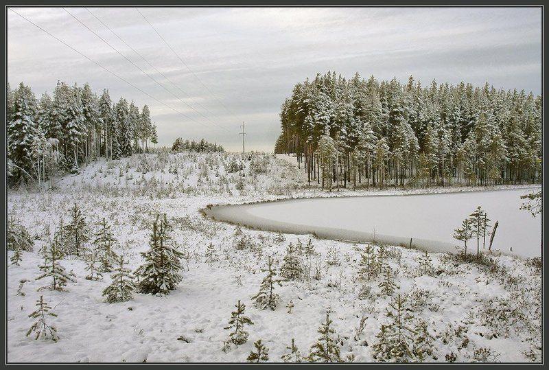 Первый снег ноября.photo preview