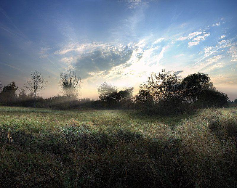 рассвет, утро, лучи, осень, сентябрь ***photo preview