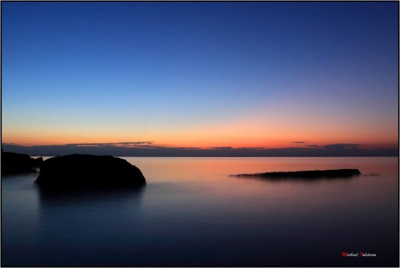 закат и мореphoto preview