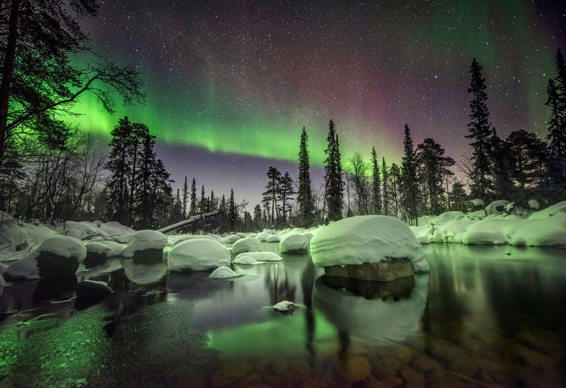 Волшебство полярной ночи.photo preview