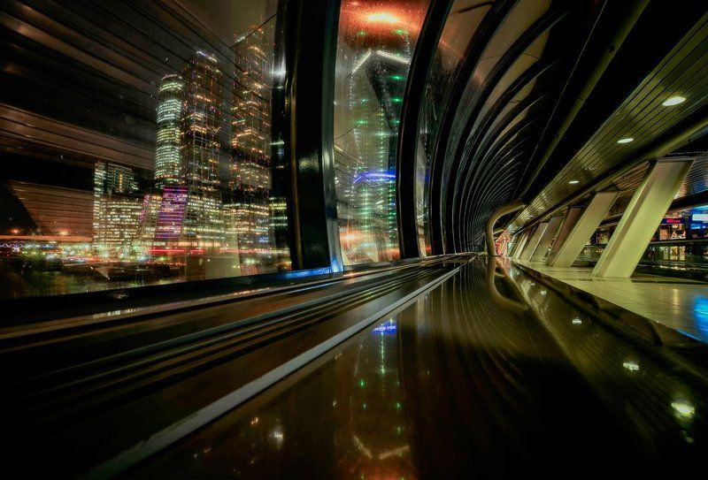 Огни большого городаphoto preview