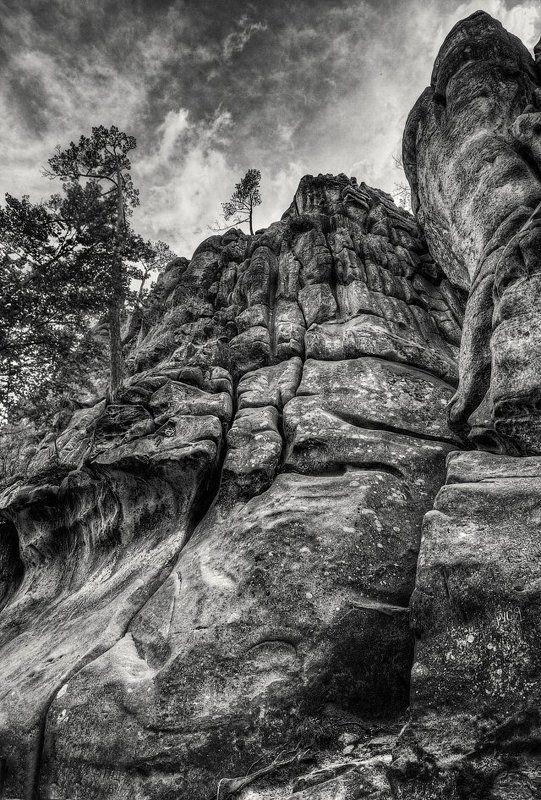 Скалы Небоскребыphoto preview