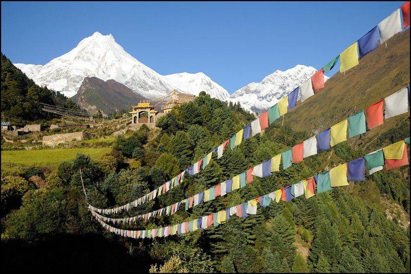 Горы, Манаслу, Непал Кутангphoto preview