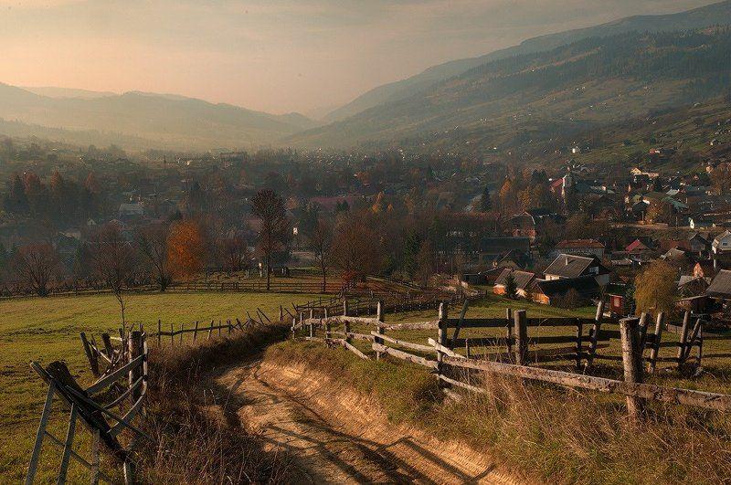 Осеннее утро в долинеphoto preview