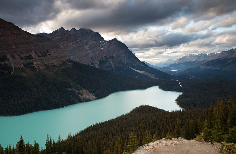 Canada, Lake, Mountains Peyto Lakephoto preview