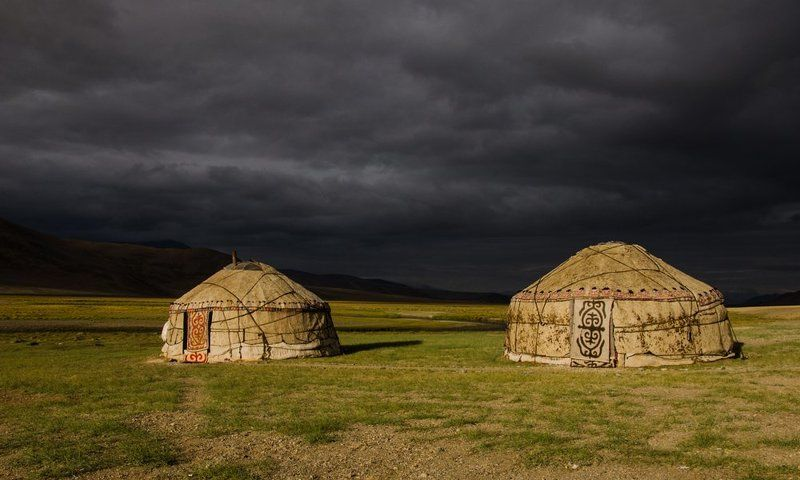 Kyrgyz, Pamir, Tajikistan, Yurts Yurtsphoto preview