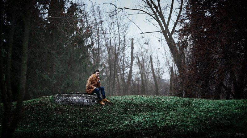 Мысли, Портрет, Человек thinkerphoto preview