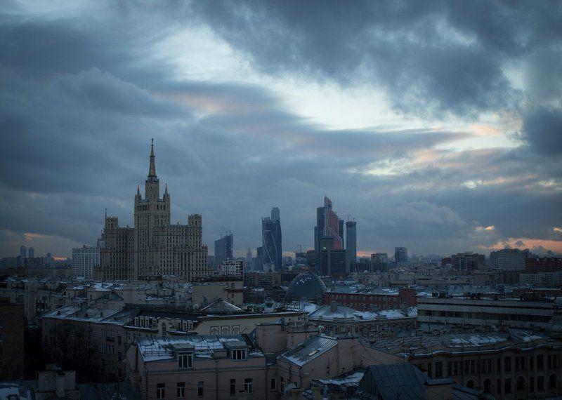 Высотка, Дом авиаторов, Москав .photo preview