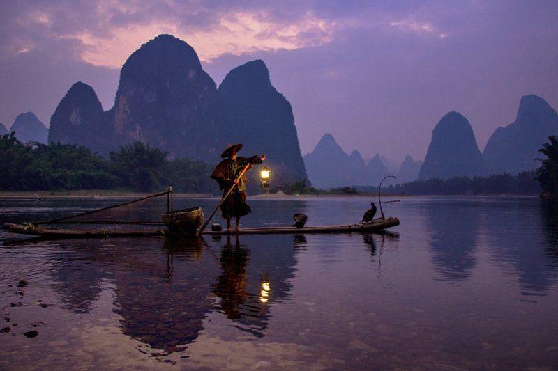 Cormorant Fishing on the Li Riverphoto preview