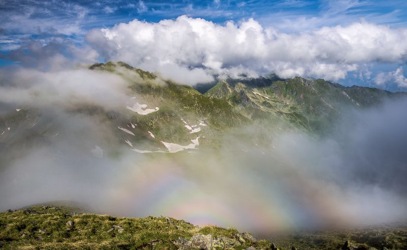 Clouds, Fog, Landscape, Mountain, Nature, Romania photo preview