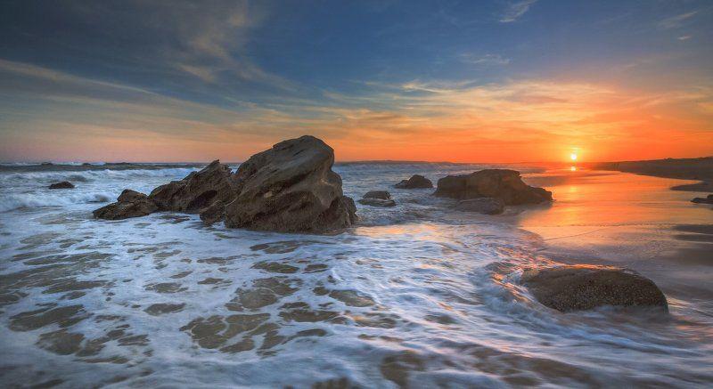 Тихоокеанский закат.photo preview