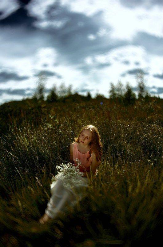 модель, алла, татаринова, фото, фотограф, сагалова, озеро, вода, трава, солнечно, голубой, портрет, природа, Ryephoto preview