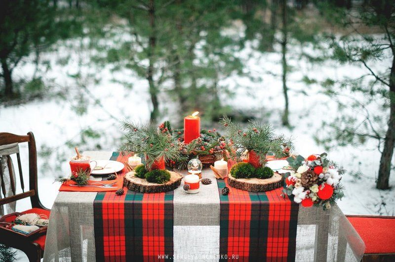 Рождественская LoveStoryphoto preview
