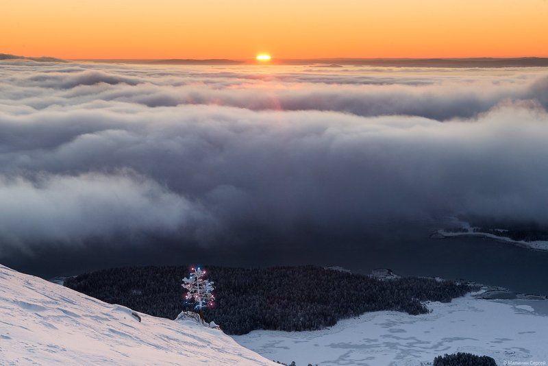 Clouds, Kandalaksha, Kola Peninsula, Sunrise, White sea, Белое море, Кандалакшский залив, Кольский, Облака, Рассвет Рождение нового дняphoto preview