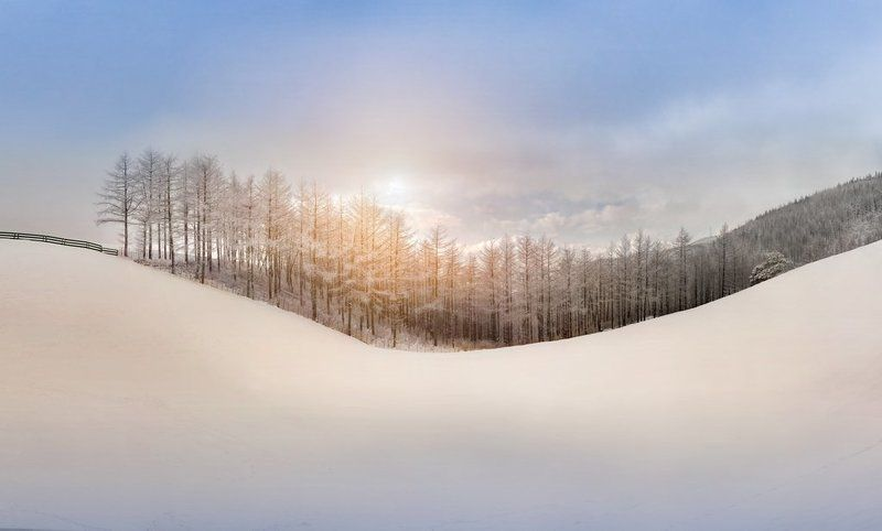 The white snow makes the world very beautifulphoto preview