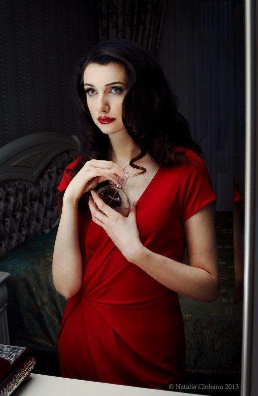 Infra red, Portrait, Woman, Портрет девушки Chancephoto preview