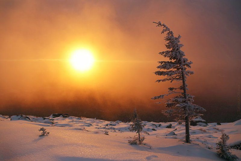 Морозное утро Таганаяphoto preview