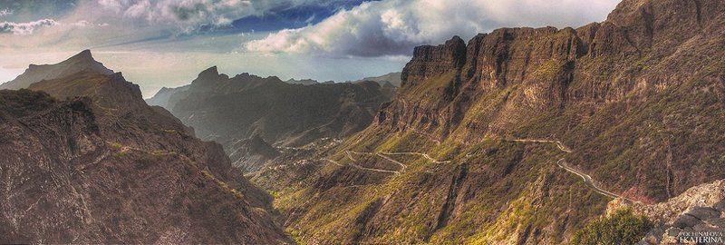 Дорога к деревне Маска, Тенерифеphoto preview