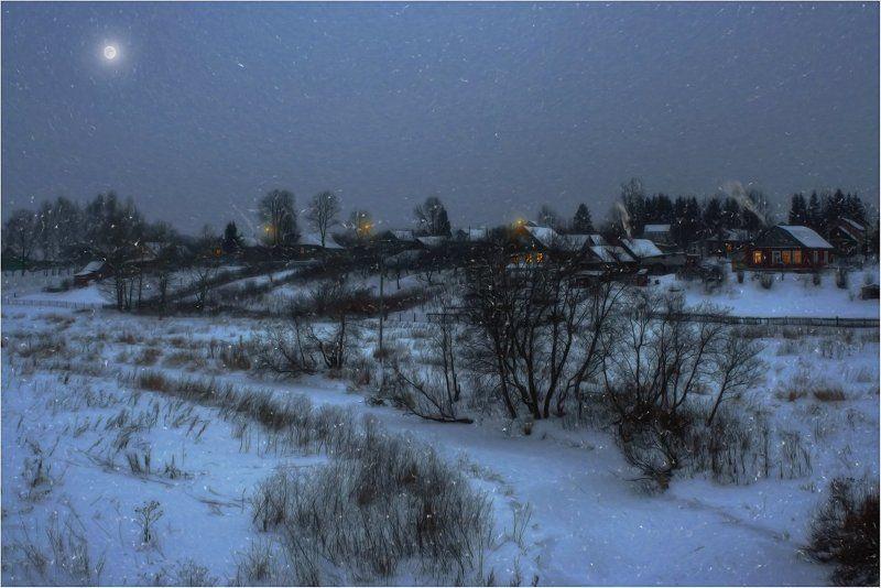 Ночь рождество Ночь перед Рождествомphoto preview