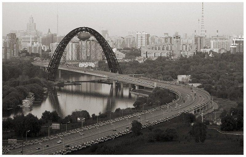 живописный, мост Живописный мост. Вид с воздуха.photo preview