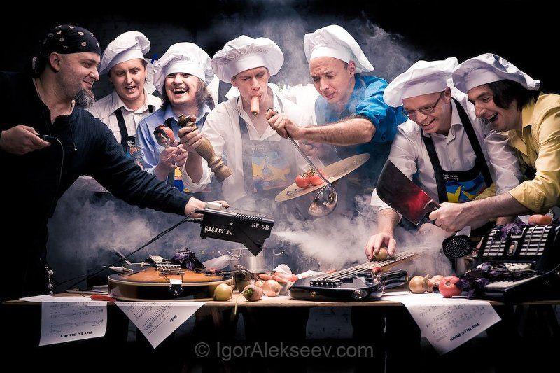 хоронько, хоронько оркестр, кухня ХО! Хоронько оркестр  Музыкальная кухняphoto preview