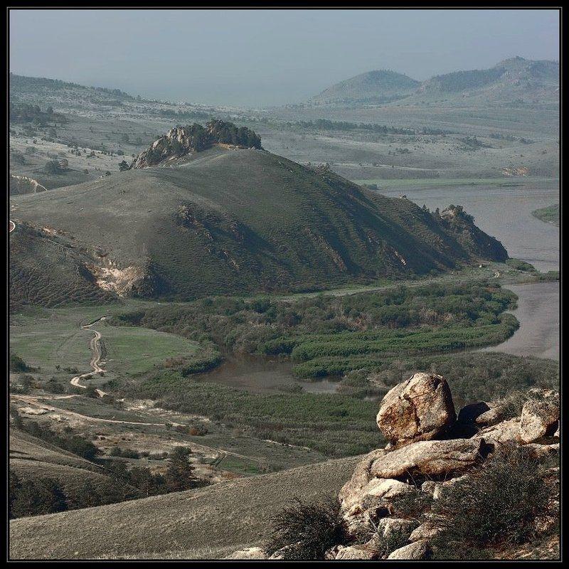 горы, река, мантры Тихо вокруг, ветер туман унес...photo preview