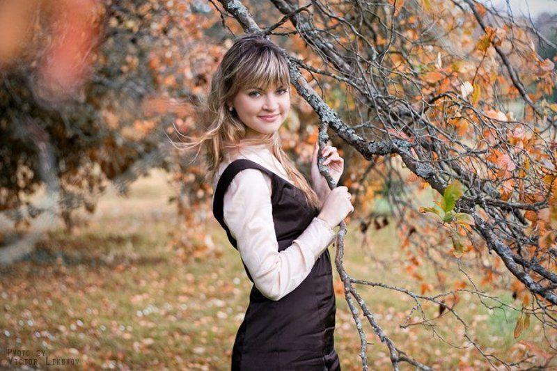 портрет, девушка, осень Autumn Mood | 3photo preview
