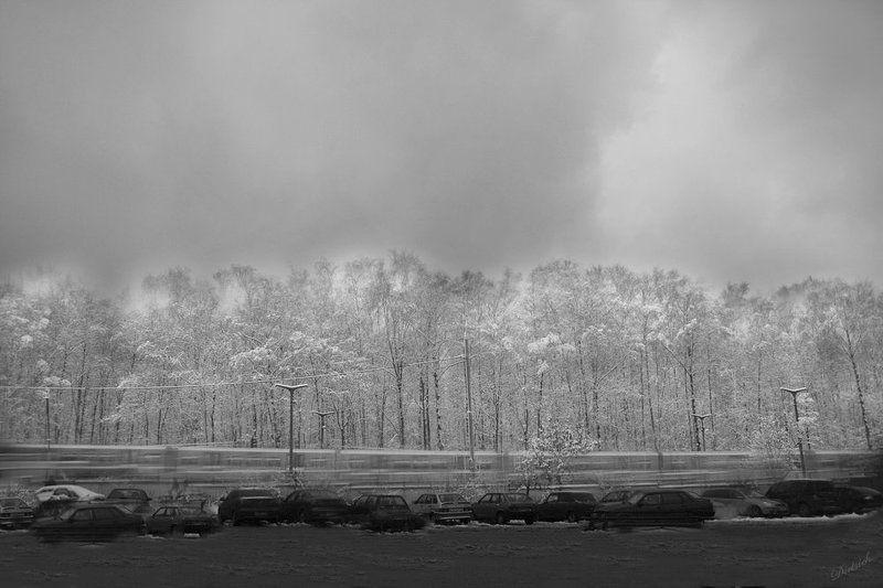 снег, зима Призрак зимыphoto preview