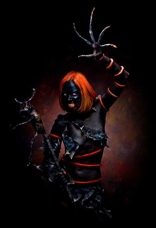 черный, демон, мистика Черный демонphoto preview