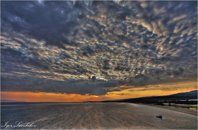 утро, байкал, бурхан Утро на Бурхане, Ветренноеphoto preview