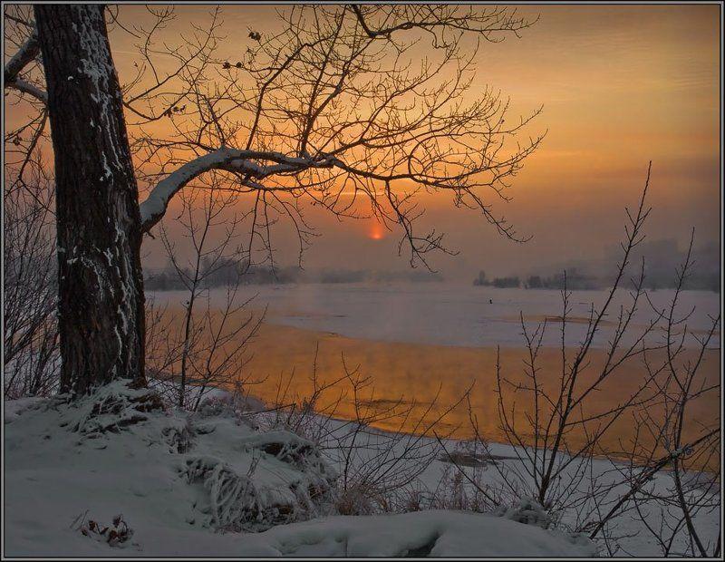 Просто морозный вечерphoto preview