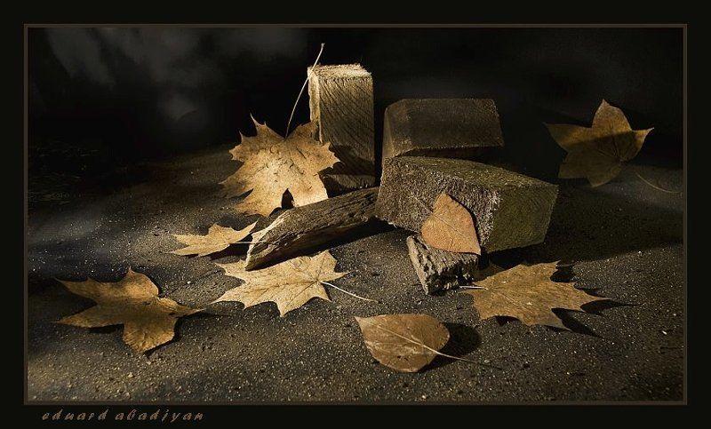 осень, символ, дерево, листья, абаджян Деревянная элегия.photo preview