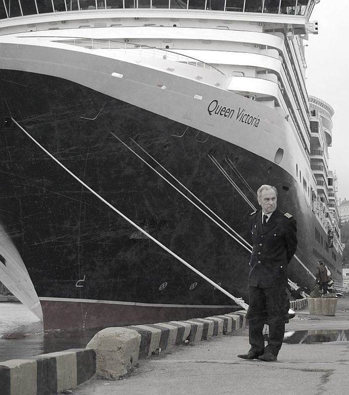 queen victoria, odessa, bw Queen Victoria in Odessaphoto preview