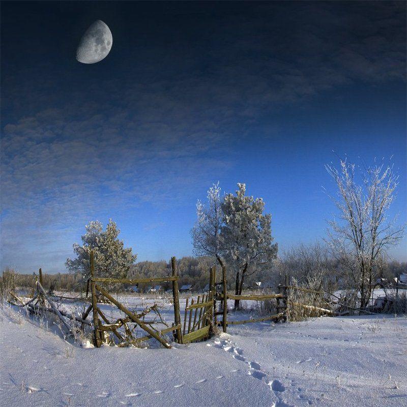cтарая калитка. зимний вариантphoto preview