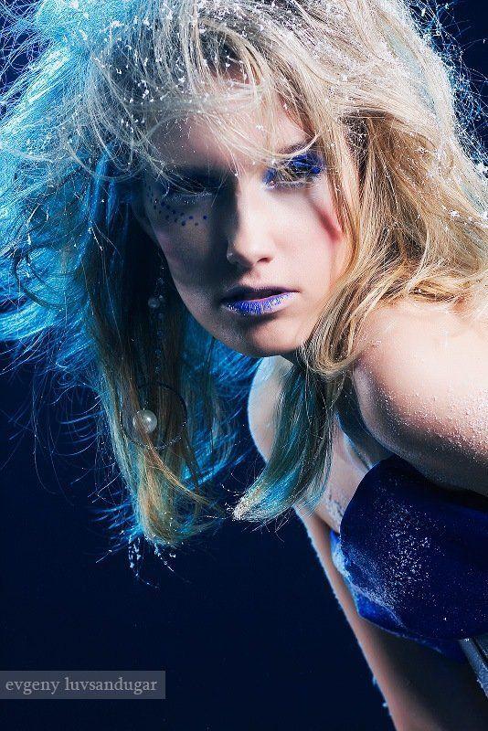 девушка, портрет, цвет, глаза, цифра ***photo preview
