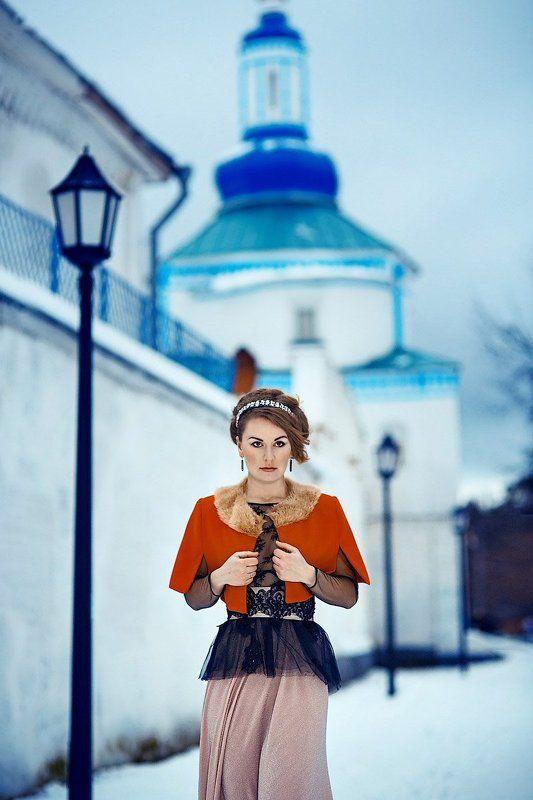 Девушка, Зима, Портрет, Снег ****photo preview