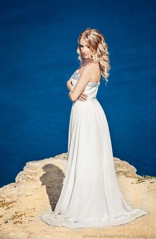 Гламур, Крым, Море, Невеста, Обрыв, Свадьба ***photo preview