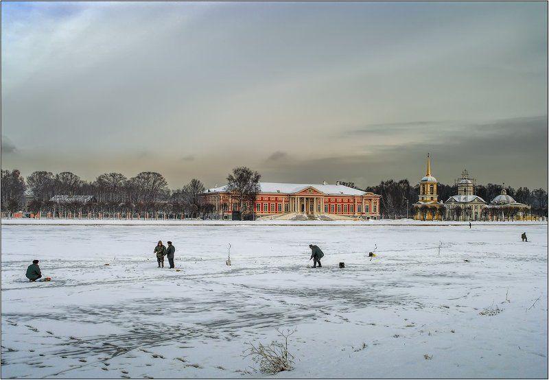 Зима в Кусковоphoto preview